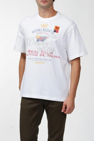 Футболка Gaastra. Цвет: белый