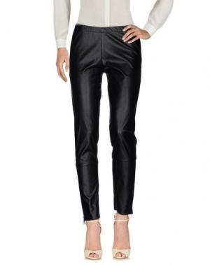 Повседневные брюки MARIUCCIA. Цвет: черный