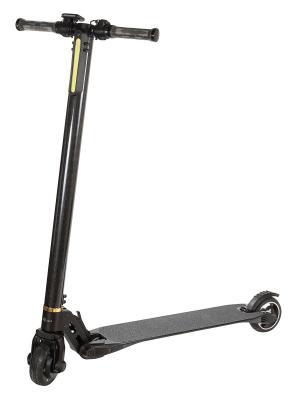 Ультралегкий электросамокат CarWalk Light. Вес 6.3 кг / 3 режима скорости /запас хода более 20 км. Цвет: черный