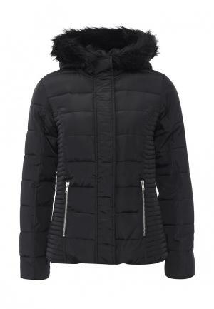 Куртка утепленная Dorothy Perkins. Цвет: черный
