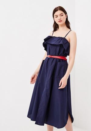 Сарафан Baon. Цвет: синий