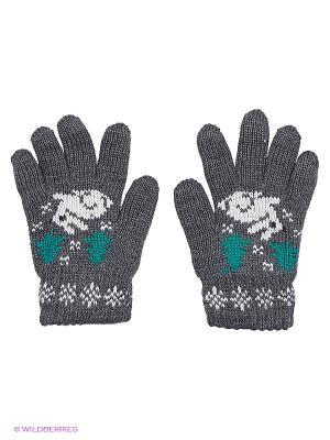 Перчатки R&I. Цвет: темно-серый