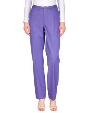 Повседневные брюки XANDRES. Цвет: розовато-лиловый