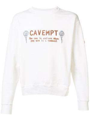 Sea is Endless sweatshirt C.E.. Цвет: белый