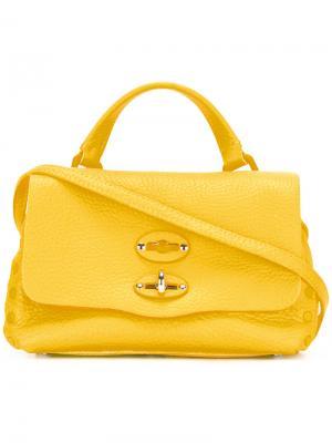 Сумка через плечо Baby Pura Zanellato. Цвет: жёлтый и оранжевый