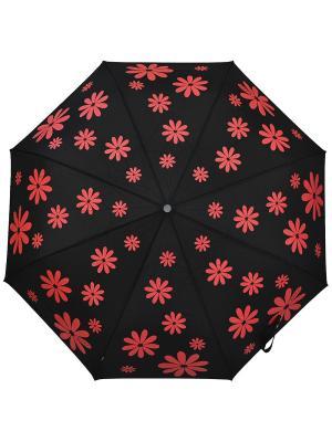 Зонты H.DUE.O. Цвет: красный, черный