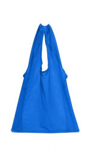 Объемная сумка с короткими ручками из сетчатой ткани BAGGU