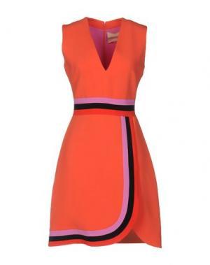 Короткое платье ROKSANDA. Цвет: коралловый