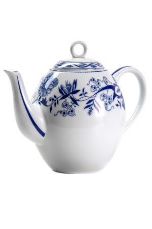 Чайник Синий лук 1,7 л La Rose des Sables. Цвет: белый, синий