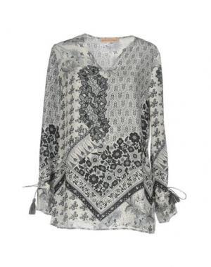 Блузка SETE DI JAIPUR. Цвет: серый