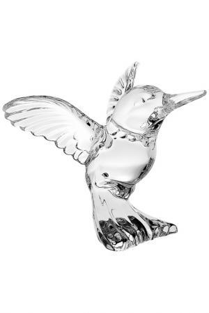 Фигурка Колибри 8 см CRYSTAL BOHEMIA. Цвет: прозрачный