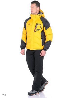 Куртка Think Pace. Цвет: желтый, черный
