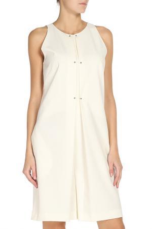 Платье PHILOSOPHY. Цвет: молочный