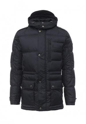 Куртка утепленная Grishko. Цвет: синий