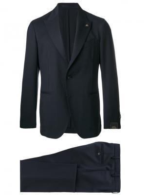 Костюмный пиджак Gabriele Pasini. Цвет: синий