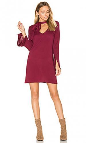 Платье otis De Lacy. Цвет: вишня