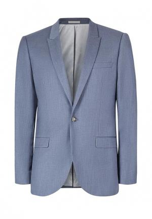 Пиджак Topman. Цвет: голубой