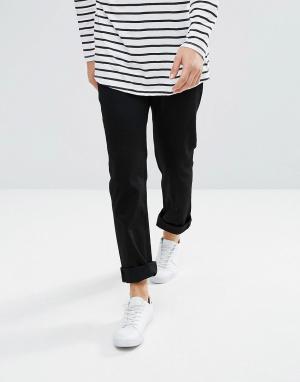 Weekday Черные прямые джинсы Vacant. Цвет: черный