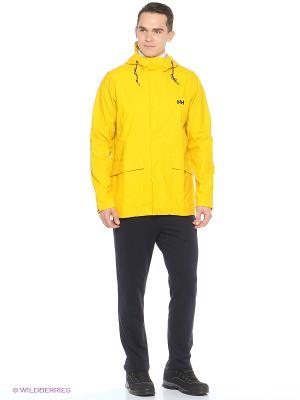 Куртка LERWICK RAIN JACKET Helly Hansen. Цвет: желтый