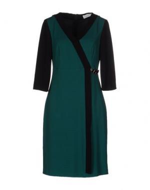 Платье до колена CALALUNA. Цвет: зеленый
