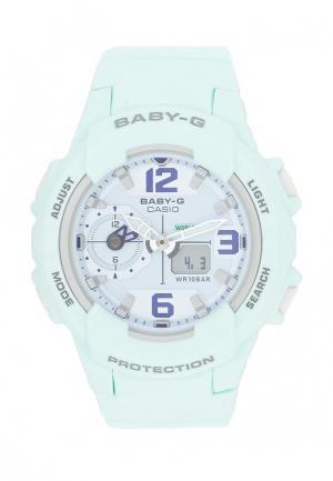 Часы Casio. Цвет: бирюзовый