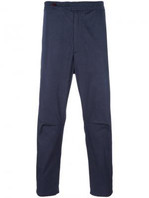 Укороченные брюки Oamc. Цвет: синий