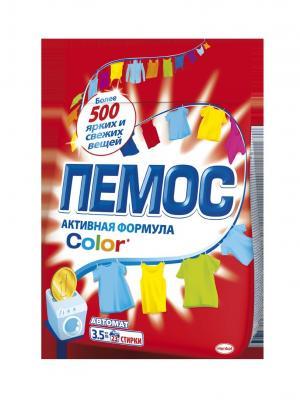 Пемос Колор 3,5кг Pemos. Цвет: красный