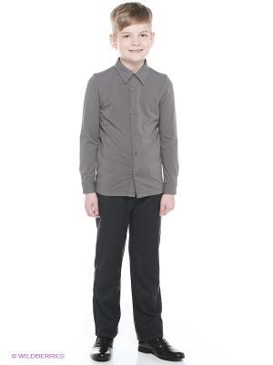 Рубашка Cleverly. Цвет: серый