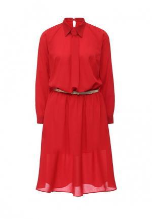 Платье Be In. Цвет: красный