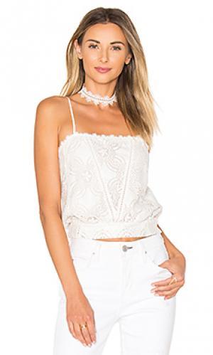 Кружевное ками Flannel Australia. Цвет: белый