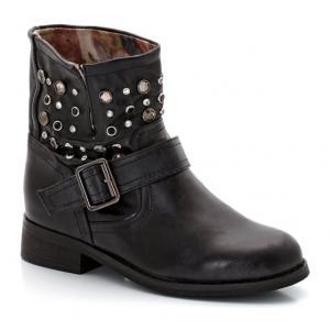 Ботинки со стразами abcd'R. Цвет: черный