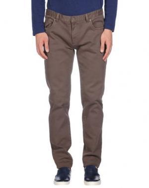 Повседневные брюки ERIC HATTON. Цвет: светло-коричневый