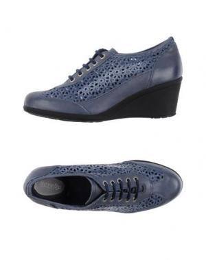 Обувь на шнурках NOVELTY. Цвет: грифельно-синий