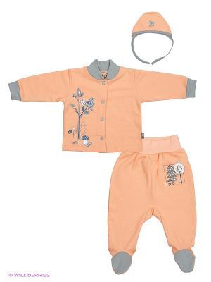Комплекты одежды Лео. Цвет: персиковый