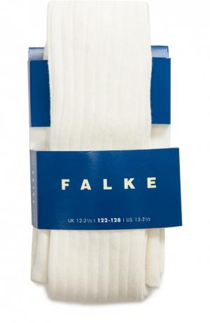 Колготки в рубчик Falke. Цвет: кремовый