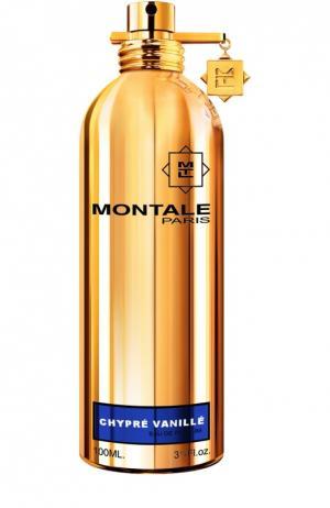 Парфюмерная вода Chypre Vanille Montale. Цвет: бесцветный