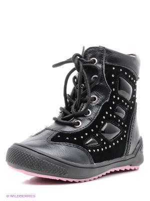 Ботинки Flamingo. Цвет: черный