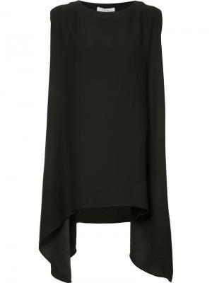 Платье с асимметричным подолом Iro. Цвет: чёрный