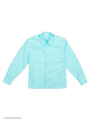 Рубашка Аэлита. Цвет: морская волна