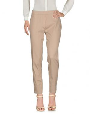 Повседневные брюки PAOLA ROSSINI. Цвет: песочный