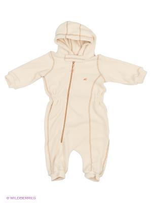 Комбинезон для малышей ЛисФлис. Цвет: молочный, бежевый