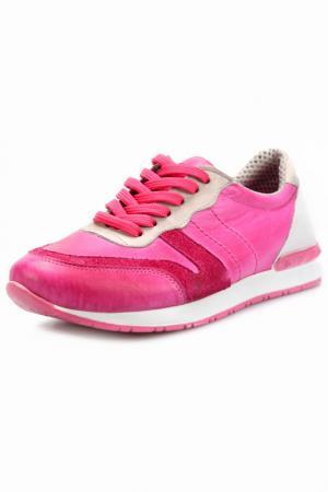 Кроссовки Andrea Conti. Цвет: розовый