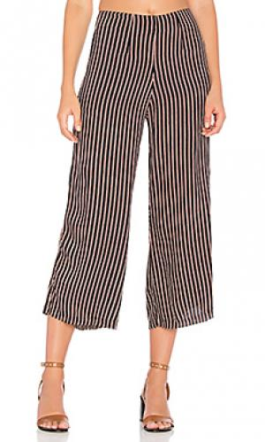 Укороченные брюки tomas FAITHFULL THE BRAND. Цвет: синий