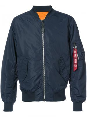 Куртка L-2B Scout Alpha Industries. Цвет: синий