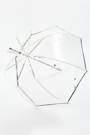 Зонт трость Isotoner. Цвет: прозрачный