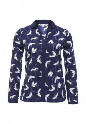 Блуза Yumi. Цвет: синий