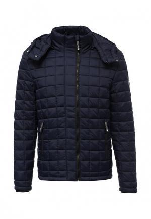 Куртка утепленная Superdry. Цвет: синий