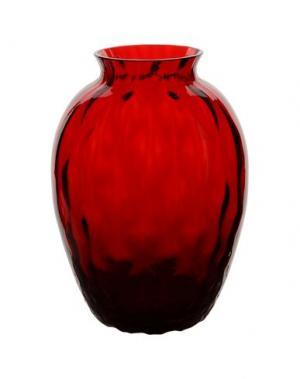 Ваза CARLO MORETTI. Цвет: красный
