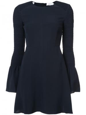 Flared dress A.L.C.. Цвет: синий