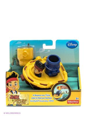 Набор Быстроходный катер (для ванны) Jake & the Neverland Pirates. Цвет: желтый